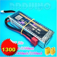 LiPo батарея 1300mah 11.1V 3S