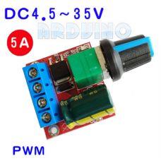 ШИМ регулятор мощности постоянного тока 35V 5A диммер
