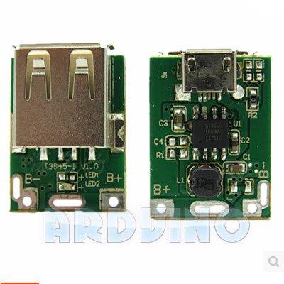 Підвищуючий перетворювач 5 В USB LI-PO 134N3P