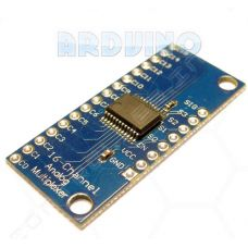 CD74HC4067 16 канальний аналоговий цифровий мультиплексор комутатор