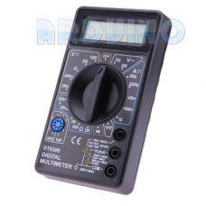 DT830B цифровий мультиметр універсальний вимірювач напруги струму