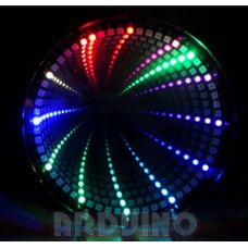 Infinity clock 3D годинник на LED на WS-2812 діодах