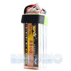 Літій полімерна LiPo батарея 2200mah 11.1V 3S